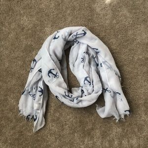 Anchor Patterned Scarf